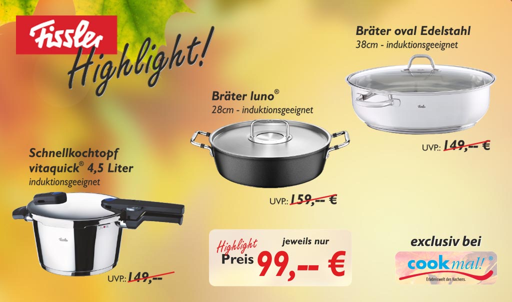 Fissler Highlight Aktion Bräter