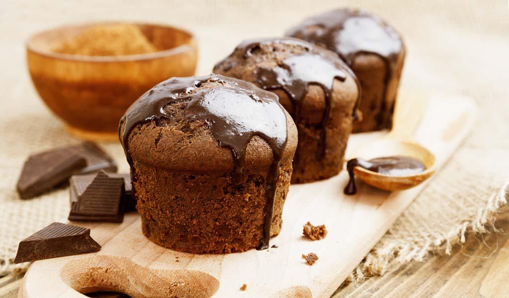 Schokoriegel Muffins