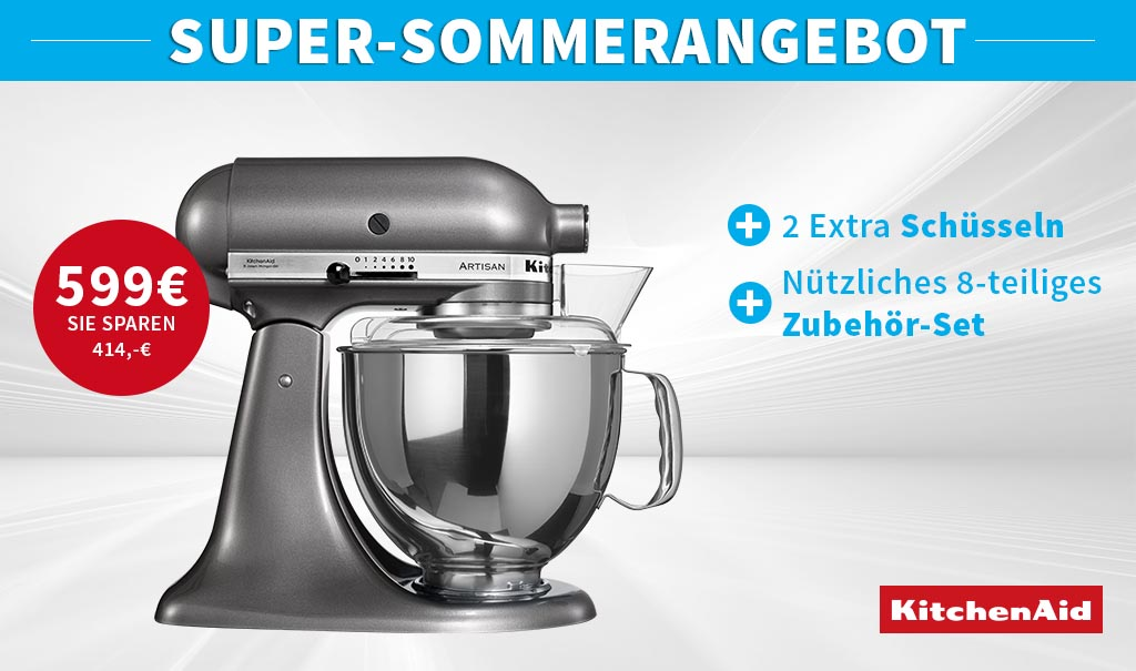 Kitchenaid Supersommer Angebot Cookmal Inspiration Fur